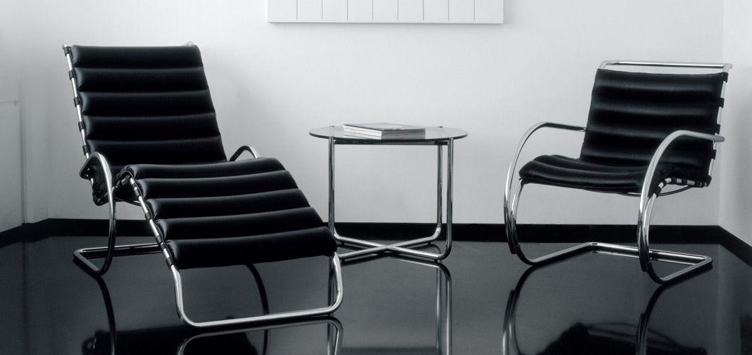 mies van der rohe chaise longue. Black Bedroom Furniture Sets. Home Design Ideas